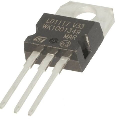 2pcs LD1117V33 Linear Voltage Regulator 3.3V 800mA TO-220