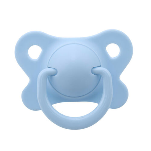 Newborn Baby Soother Pacifier Dummy Silicone Infant Orthodontic Boys Girl LH