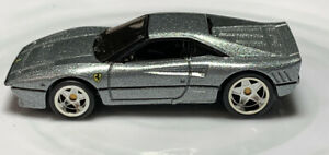 Hot-Wheels-Phil-s-Garage-Ferrari-288-GTO-Silver-1-64-Real-Riders-Diecast-Chase