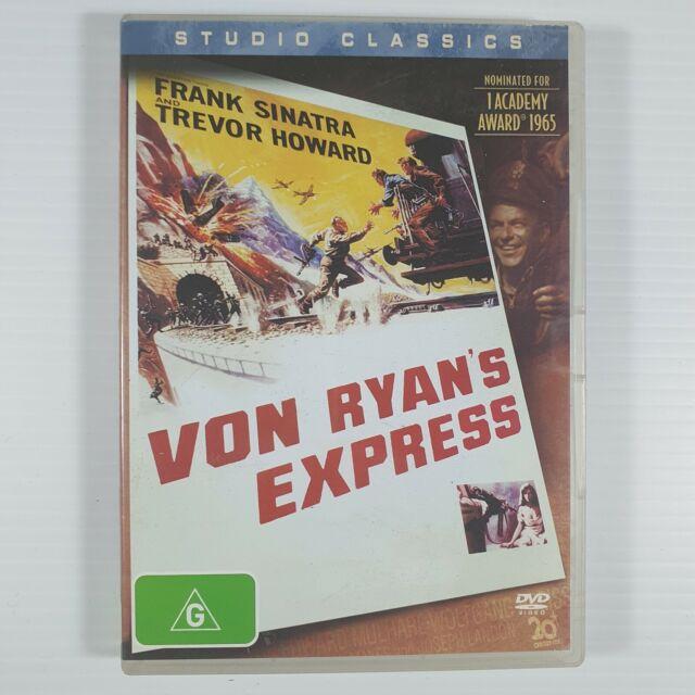 Von Ryan's Express (DVD, 2003) - REGION 4 - VERY RARE