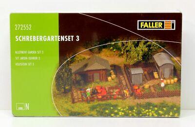 04605 Faller Auv (272552) Schrebergartenset 3 120270-set 3 120270 It-it Mostra Il Titolo Originale