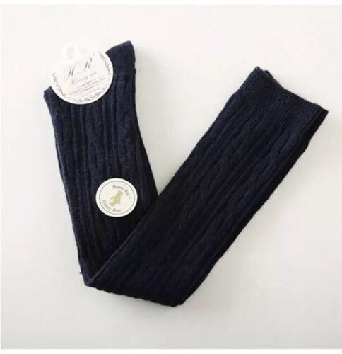 Linea donna 95/% LANA CASHMERE Overknee-Alto Calzini Caldi Spessi Design Skinny Calze