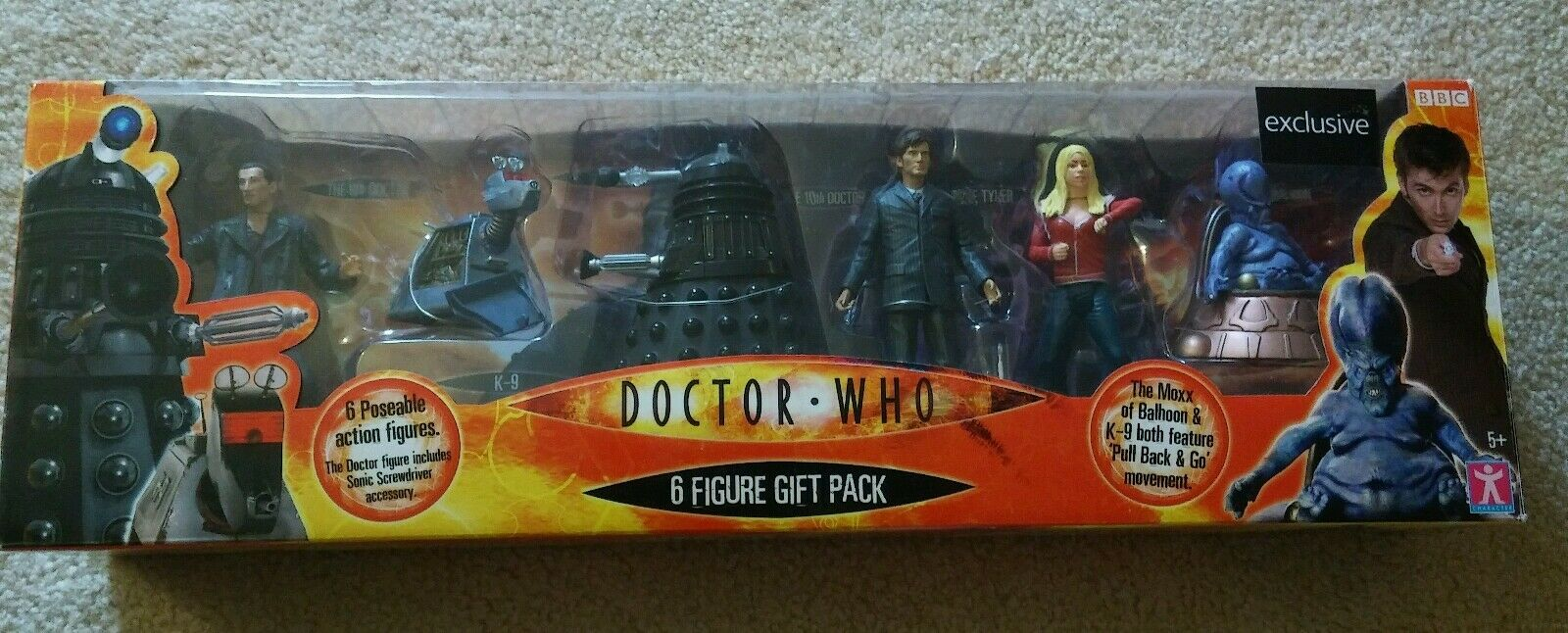 Doctor Who Character Options 6 Figure Woolworth Exclusive Set