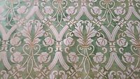 Brunschwig Venezia Abruzzi Fortuny Style Damask Green Gold Cream By The Yard