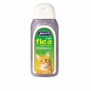 Johnson-039-s-Cat-Flea-Cleansing-Shampoo