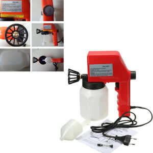 1PC 600ml 220V 0.8mm Nozzle Electrical Paint Spray Gun Paint Sprayers PG-350 New