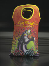 Flaschentasche aus Neopren Ed Hardy Twin - Christian Audigier - Motiv : Panther