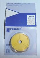 Vintage Recoton 45 Rpm Record Adapter, Yellow Plastic, Brand Sealed