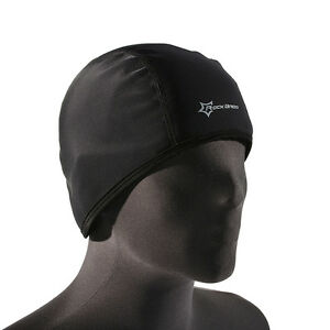 RockBros Mens Fleece Thermal Bike Windproof Outdoor Sports Cycling Cap Hat Black