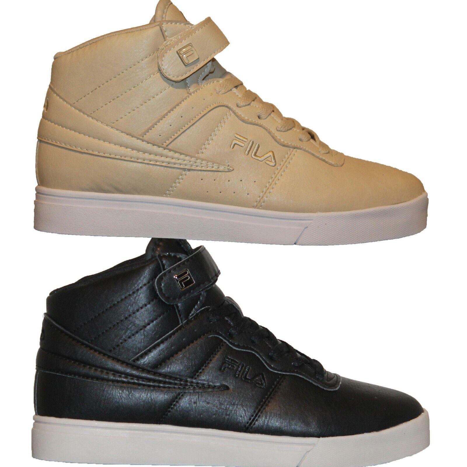 Mens FILA VULC 13 MP Mid Plus DISTRESS Retro Basketball Shoes Sneakers Brand discount