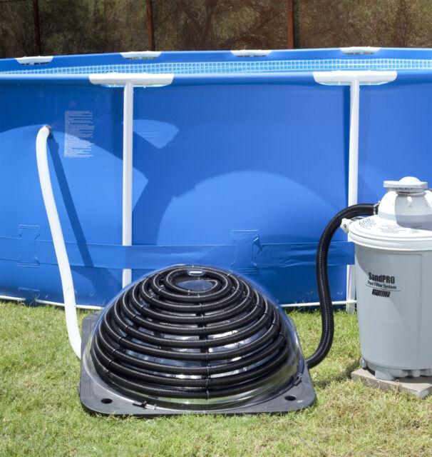 Game 4513 solarpro xd2 above ground solar pool heater ebay - Swimming pool solar heating system ...