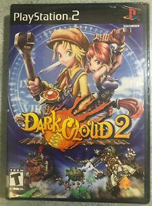 Dark-Cloud-2-Sony-PlayStation-2-2003-brand-new-factory-sealed-ps2