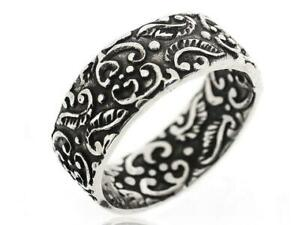 925 Sterling Silver Mens Jewelry Vintage Antique Classic