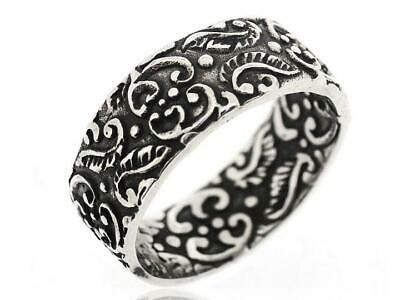 925 Sterling Silver Mens Jewelry Vintage Antique Classic Ring For Men Size 5 12 Ebay