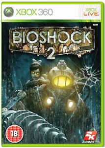 XBOX-360-BIOSHOCK-2-Nuovo-e-Sigillato-Compatibile-Xbox-One-Ufficiale-STOCK-Regno-Unito