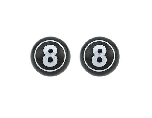 For Schrader//Valve CRUISER BMX Lowrider Lucky Eight Mini Valve Caps 3 Colors