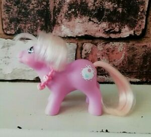 Vintage-Hasbro-My-Little-Pony-G1-Tiddly-Winks-1985-With-Original-Baby-Necklace