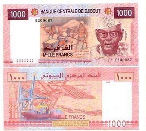 Gibuti-Djbouti-1000-1-000-franchi-2005-FDS-UNC-pick-42-lotto-2382