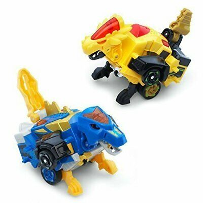 Action Figures Bipedal Turbo Dinos 2-pack With Cruz And Spinner We Have Won Praise From Customers Toys & Hobbies Beautiful Vtech Switch & Go Dinos