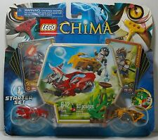 LEGO CHIMA 70113 CHI BATTLES SPEEDORZ WARZ AND LONGTOOTH 2013 MIP