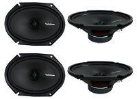 Rockford Fosgate R168x2 6x8 220w 2 Way Car Audio Coaxial Speakers, 2 Pairs