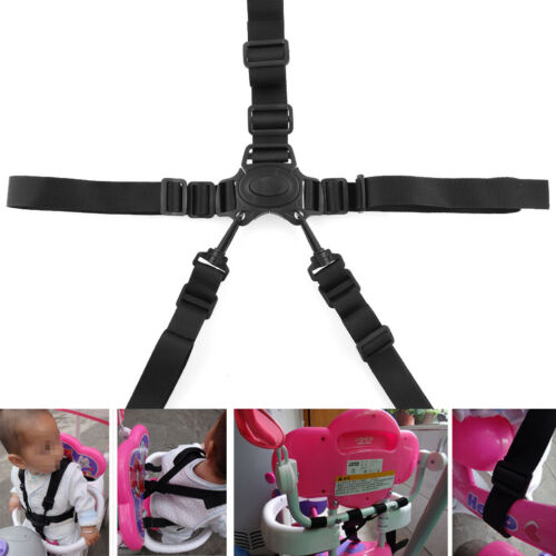 Brand 5-Point Baby Safe belt Strap-Infant Stroller Spark belt Randomly
