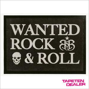 Rock-N-Roll-Fussmatte-Rock-Star-Baby-Rock-Fussmatte-RSD-806-Rock-amp-Roll