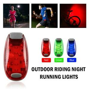 LED-Light-Clip-On-For-Running-Bike-Rear-Lamp-Cycling-Jogging-Safety-Warning-New