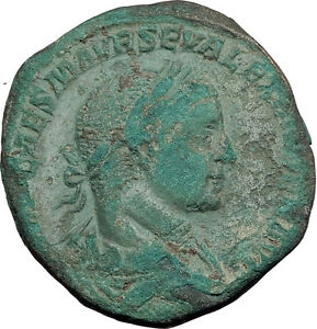 SEVERUS-ALEXANDER-224AD-Rome-Sestertius-Authentic-Ancient-Roman-Coin-i63968