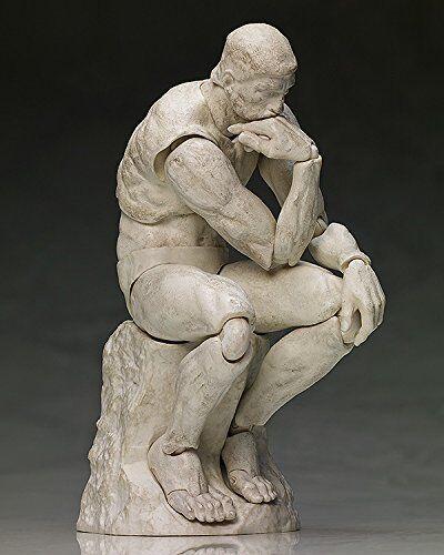 Table Museum Figma The Thinker Plaster Action Figure Rodin sculpture statue art