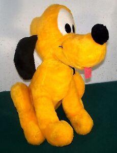 Vintage-Big-16-034-Walt-Disney-Productions-Pluto-Dog-California-Stuffed-Toys