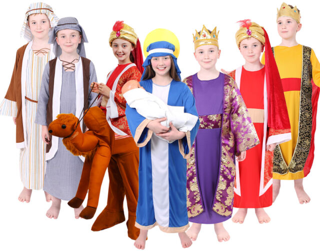 Rubies Childrens Christmas School Nativity Play Fancy Dress Costume Outfit