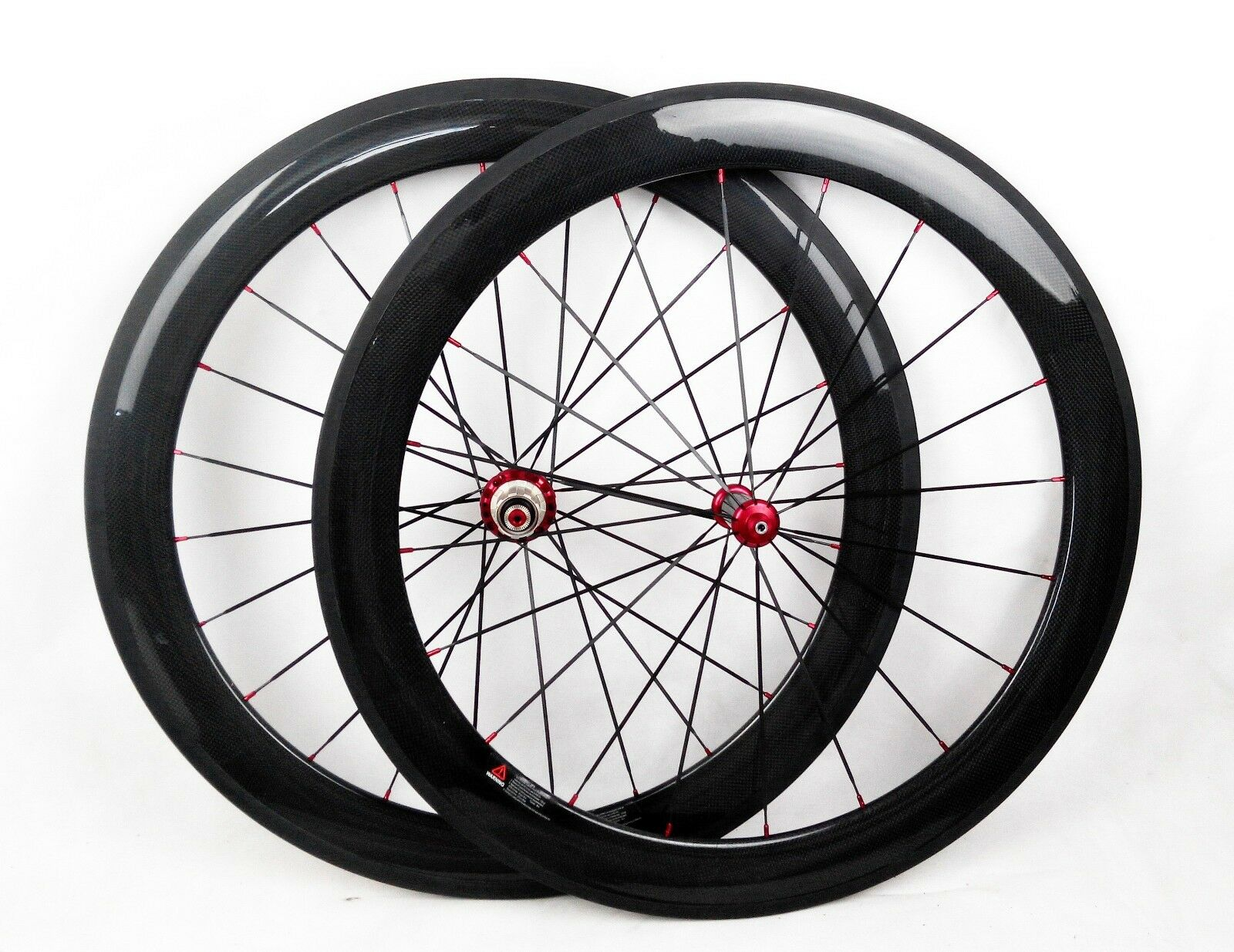 Speedcarbon11 60mm tubular carbon fiber road race wheel straight pull 25mm width