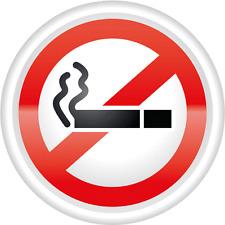 "Ban Stop Sign No Smoking Car Bumper Sticker Decal 5"" x 5"""