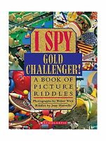 I Spy Gold Challenger: A Book Of Picture Riddles Free Shipping
