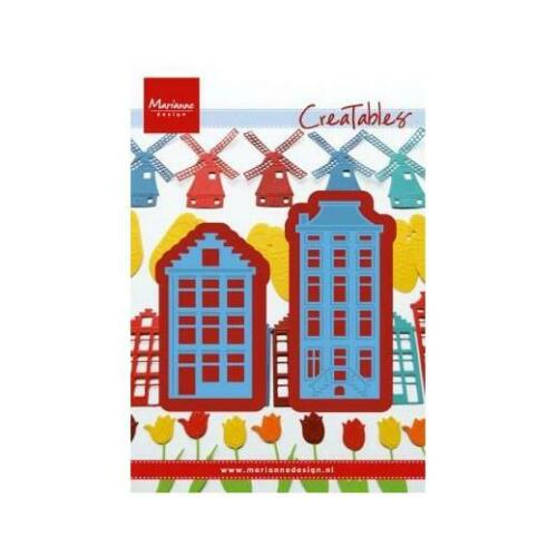 Marianne Design Creatables Cutting Dies Amsterdam Houses LR0207