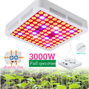 3000W-100LED-Grow-Light-Hydroponic-Full-Spectrum-Plant-Growing-Flower-Bloom-Bulb