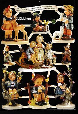# Glanzbilder # Ef 7504 Hummel Kinder Mit Tieren Und Ein Langes Leben Haben. Genial Neue BÖgen 2017 ! r