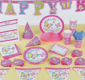 Details About Happy Birthday Centerpieces Decoration Balloonsbutterflyunicorn Theme Boygirl