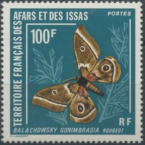 AFARS-amp-ISSAS-1976-N-421-PAPILLON-Balachowsky-gomimbrasia-Sc-398-BUTTERFLY-MNH