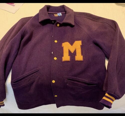 Vintage 1950 - 1953  McAllen High School Varsity J