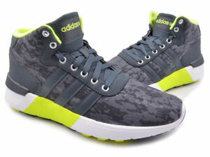 buy popular 1bc39 a242b Image is loading Adidas-Neo-Lite-Racer-Mid-Men-039-s-