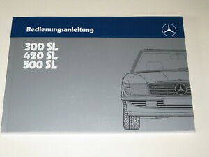 Betriebsanleitung-Mercedes-R-107-300-SL-420-S-L-500-SL-Bedienungsanleitung