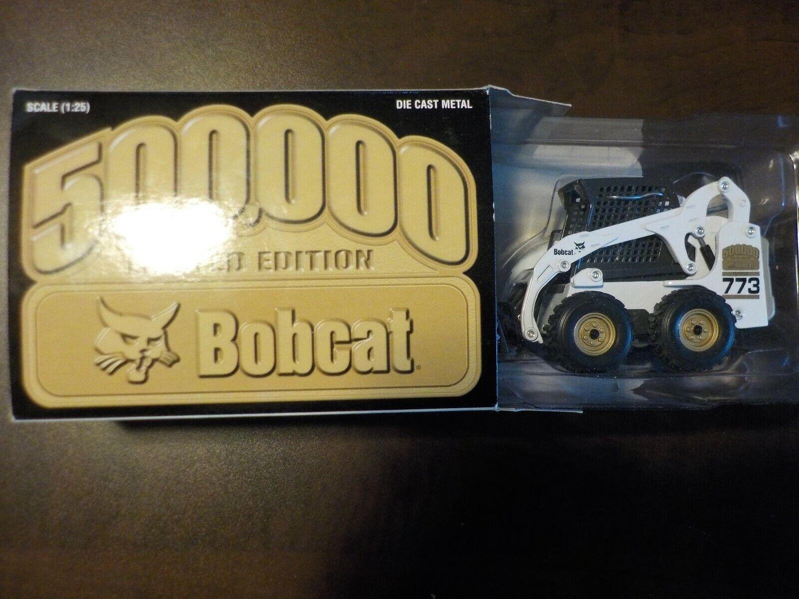 RARE IR Bobcat 500,000 773 Skid Steer Loader 1 25 Modèle à l'échelle Toy DIE CAST METAL