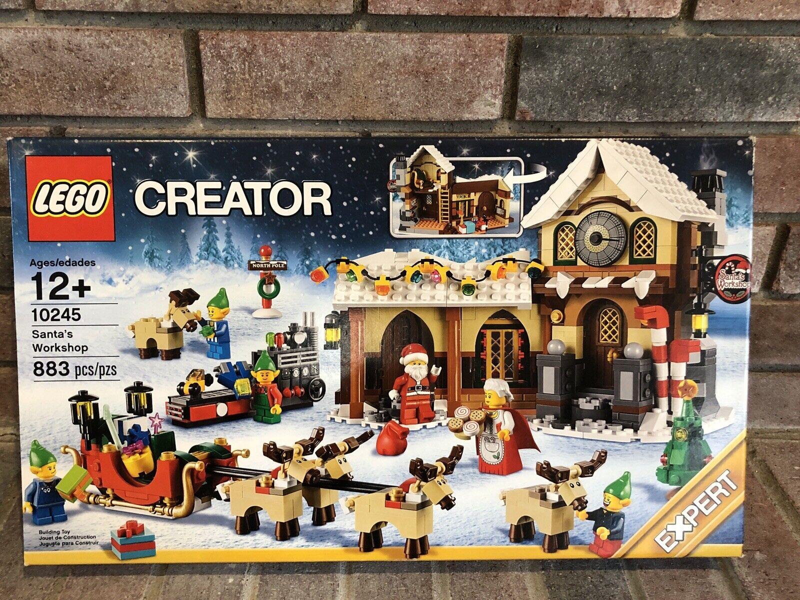 moda classica LEGO Creator Expert Santa's lavoronegozio  10245 Christmas Christmas Christmas Rare & Hard to Find nuovo  vendite online