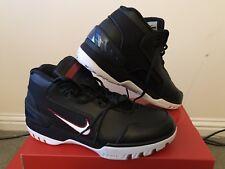 95b8a2b69d55e Nike Air Zoom Generation QS Size 9 1 2 Lebron James Retro Black AZG ...