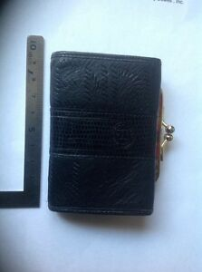 Image is loading vintage-fendi-roma-italy-1925-coin-purse-wallet d49455e7c47b0