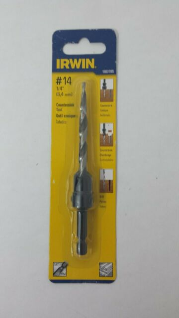 Irwin Tools 1882785  SPEEDBOR Countersink Wood Drill Bit Number-14