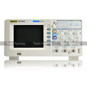 Details about Rigol DS1052E Digital Oscilloscope 50MHz 1 GSa/s 2 channel +  USB storage UK Ship