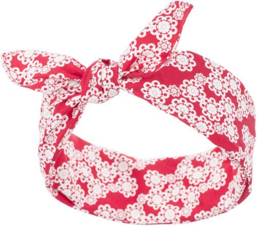 Küstenluder TESS Vintage FLORAL Ornament Pin Up Nickituch BANDANA Rockabilly